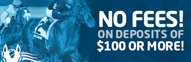 No Fees! On Deposits of $100 or more!